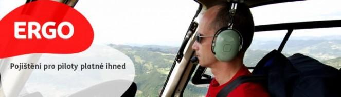 Pojištění pro piloty: Stůjte pevnýma nohama na zemi i ve vzduchu
